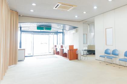 浦田会館 本館 【1階】受付スペース